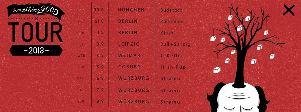 München, Berlin, Leipzig, Weimar, Coburg, Würzburg